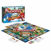 Rare Sonic Boom Monopoly Board Game