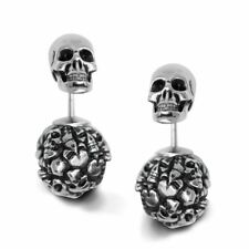 Skulls Earrings Captivated Souls Stainless Steel Jewelry By Controse