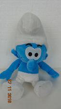 """SMURFS SMURF BOY BLUE WHITE 12"""" PLUSH STUFFED ANIMAL LOVEY TOY"""