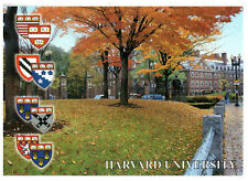 Harvard University, Harvard Square and Marvard University, USA Rare Postcard