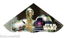"42"" STAR WARS R2D2 C3PO 42 IN POLY KITE W/ LINE, WINDER, QUIKCLIP, & SKYTAILS"