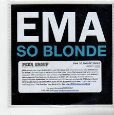 (FL844) Ema, So Blonde - 2014 DJ CD