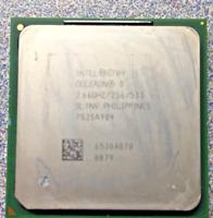 Intel Celeron D CPU Processor 2.66GHz 256KB 533MHz 1.4V Socket 478 SL7NV