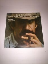 Jim Croce – Time In A Bottle, Jim Croce's Greatest Love Songs LP on Lifesong
