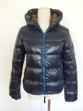 DUVETICA  ZIPPED PADDED DOWN JACKET WITH HOOD Sz 38