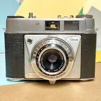Vintage KODAK Retinette  35mm Camera + Cla'd Excellent Used Condition! Lomo