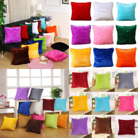 Soft Plush Warm Pillow Case Throw Cushion Cover Pillowcase Home Sofa Decor