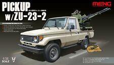 Meng VS-004 Toyota Pick-Up with ZU-23-2 AA Gun scala 1/35  kit in plastica e PE