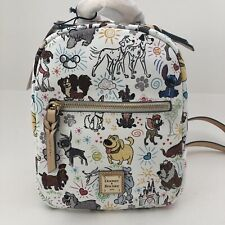 Dooney & Bourke Dogs Sketch Mini Backpack Bag Disney Stitch Pongo Perdita DUG