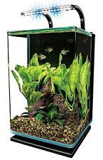 Marineland Contour 5 aquarium Kit 5 Gal Round Glass Corners LED Light Fish Tank