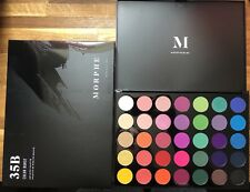 100% GENUINE Morphe Brushes 35B Eye Shadow Palette! 35 Color Glam Palette
