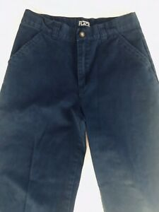 New Children's Place Navy Blue Boys Flat Front Pants In Size 10 Chinos.