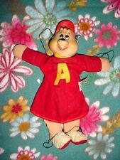 Vtg-1963-60s-Red Knickerbocker-Alvin from Chipmunks-Simon Theodore Puppet doll