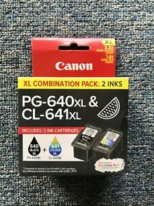 Canon PG-640XL + CL-641XL Combo Pack - RRP $85.00