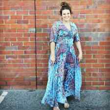 JAASE WOMEN'S INDIANA MAXI DRESS FRANKIE PRINT SIZES XS-XL