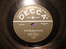 Eddie Habat Cascade Polka / Wishbone Polka  78