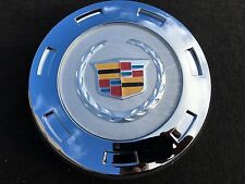 "1 PCS 2007-2014 CADILLAC ESCALADE COLORED CREST 22"" WHEEL CENTER CAP 9596649"
