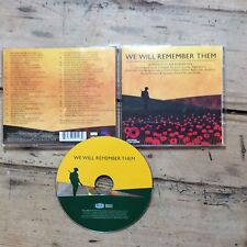 We Will Remember Them CD - Various Artists - 33 Tracks For Remembrance