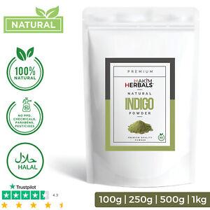 Natural INDIGO Powder 100% Natural Premium Quality