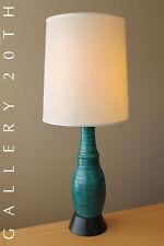 WOW! MID CENTURY DANISH MODERN BLUE GREEN METAL LAMP EAMES 50'S 60'S VTG ATOMIC