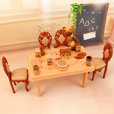 2018 Fashion Pink sweetheart kitchen table set Furniture  for barbie doll