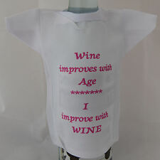 Miniature Bottle T-Shirt funny slogan - ideal fun birthday gift