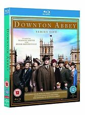 DOWNTON ABBEY ALL EPISODES SERIES 5 BOX SET BRAND NEW + EXTRAS BRAND NEW BLU RAY