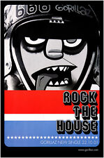 Original Gorillaz poster - Rock the House