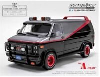 GREENLIGHT 12101 GMC VANDURA 1983 The A TEAM VAN Bespoke Collection 1:12th scale