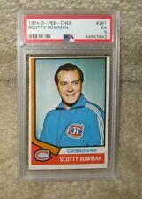 1974-75 O-PEE-CHEE Scotty Bowman - PSA 5 - # 261
