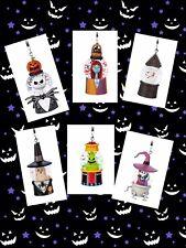 Disney The Nightmare Before Christmas Mini Snowglobe Ornaments Set 6 Halloween