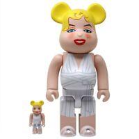 Marilyn Monroe 400% 100% Bearbrick Hollywood Be@rbrick Figure Set Rare Medicom