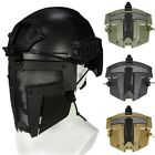 Outdoor Warrior Iron Spartan Fighting Mesh Mask Hunting Airsoft Protective Mask