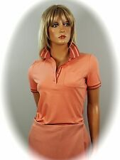 ESCADA SPORT  SÜSSES  POLO  SHIRT ~ Rosé Flamingo  Gr. S  36  ~ NEU ~