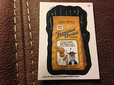 1992 o-pee-chee Canada Wacky Packages #13 FAMISHED AMISH COOKIES FAMOUS AMOS MC