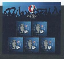 Frankreich,2016, Fußball EM,Kleinbogen, Block, Variante 3D,KB 6422  **