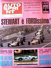 AUTOSPRINT n°9 1969  FERRARI 312 - con Fumetto Imprese di Casco d'Oro  [P54]