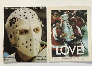 Philadelphia Flyers 1974-75 Yearbook & Story Flyers Stanley Cup Book Booklet