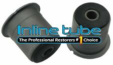 64-87 Suspension Rear Control Arm Frame Upper Lower Factory Rubber OE Bushings 2