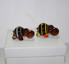 Art Blown Glass Murano Figurine Glass Figurine Hippopotamus