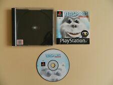 Yetisports Deluxe ps1/Playstation 1 Spiel-Winter Spiele Kinder Familie