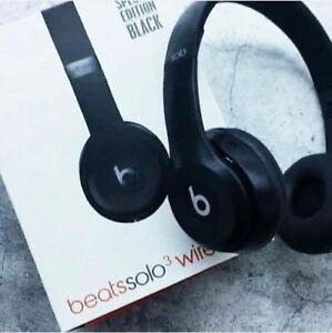 Authentic Beats by Dr. Dre Solo 3 Wireless On-Ear Headphones Please Read