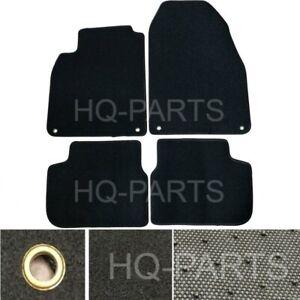 New 4 Pieces Black Nylon Carpet Floor Mats Fit For 03-11 Saab 9-3