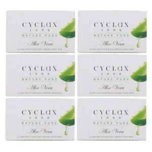 6 x Cyclax 1896 Nature Pure Aloe Vera Soap Bar 90g