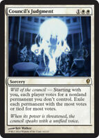 1x Council's Judgment NM, English MTG Conspiracy