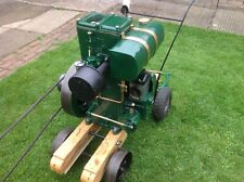Vintage lister Water Pump/engine on trolley