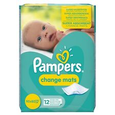 Pampers Change Mats (12) FREE UK DELIVERY