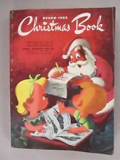 Sears CATALOG - Christmas, 1953 ~~ XMas Wishbook, toys, toy