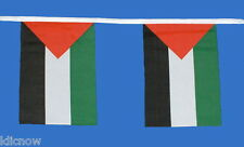 Palestine Flag Bunting 9metres 30ft Long with 30 Cloth fabric Flags