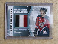 10-11 ITG Heroes & Prospects H&P Draft Day Stars SEAN COUTURIER Number /6